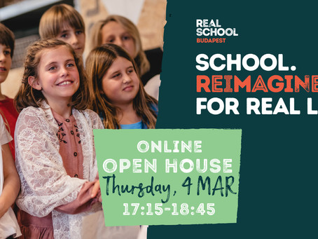 Join our online Open House on Thursday, 4 March 2021!