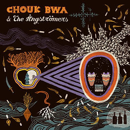 chouk bwa & the Ångstromers vodou ale cover graphic design Félix Vincent.jpg
