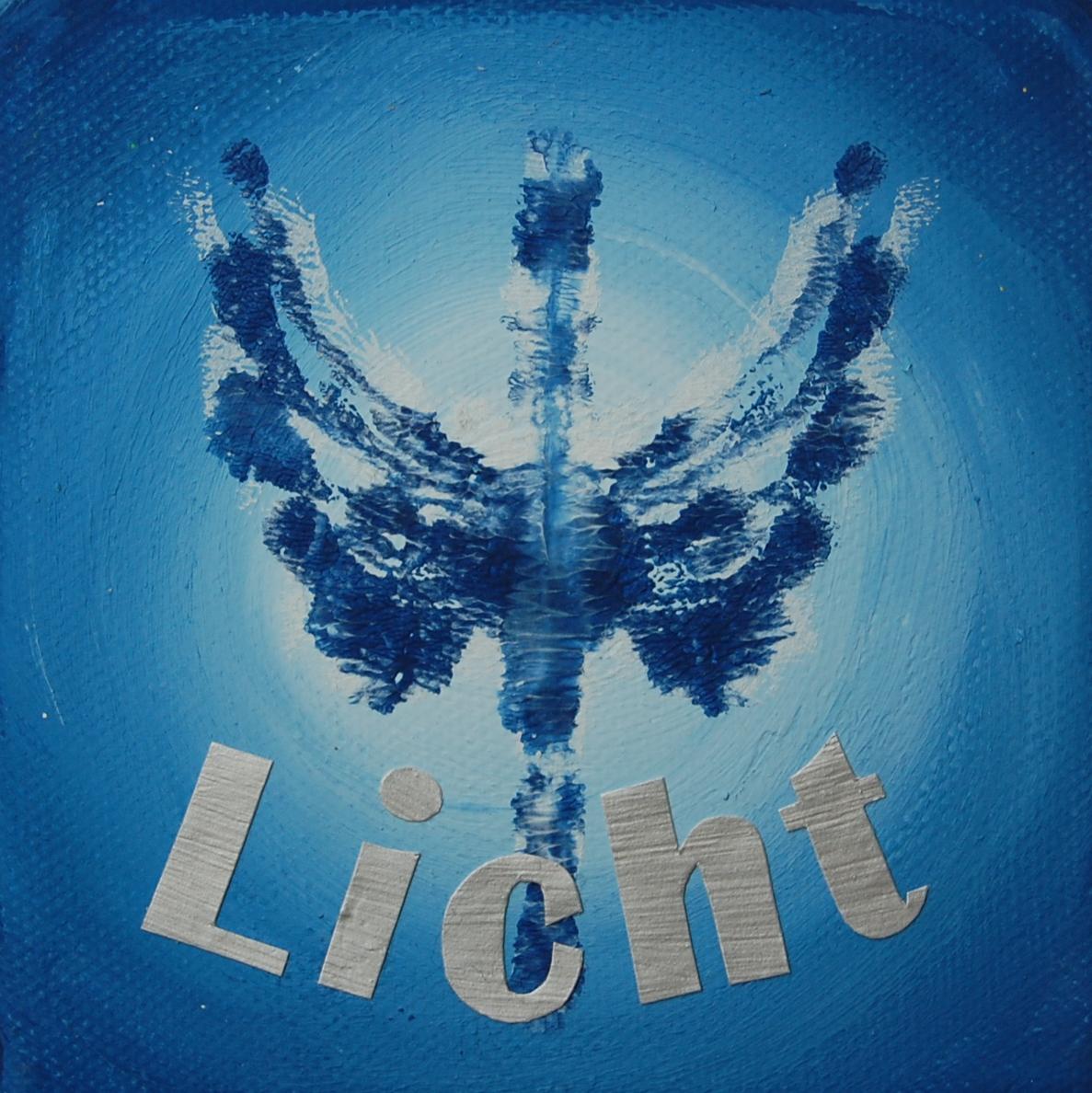 Engel des Lichts 10 x 10 cm