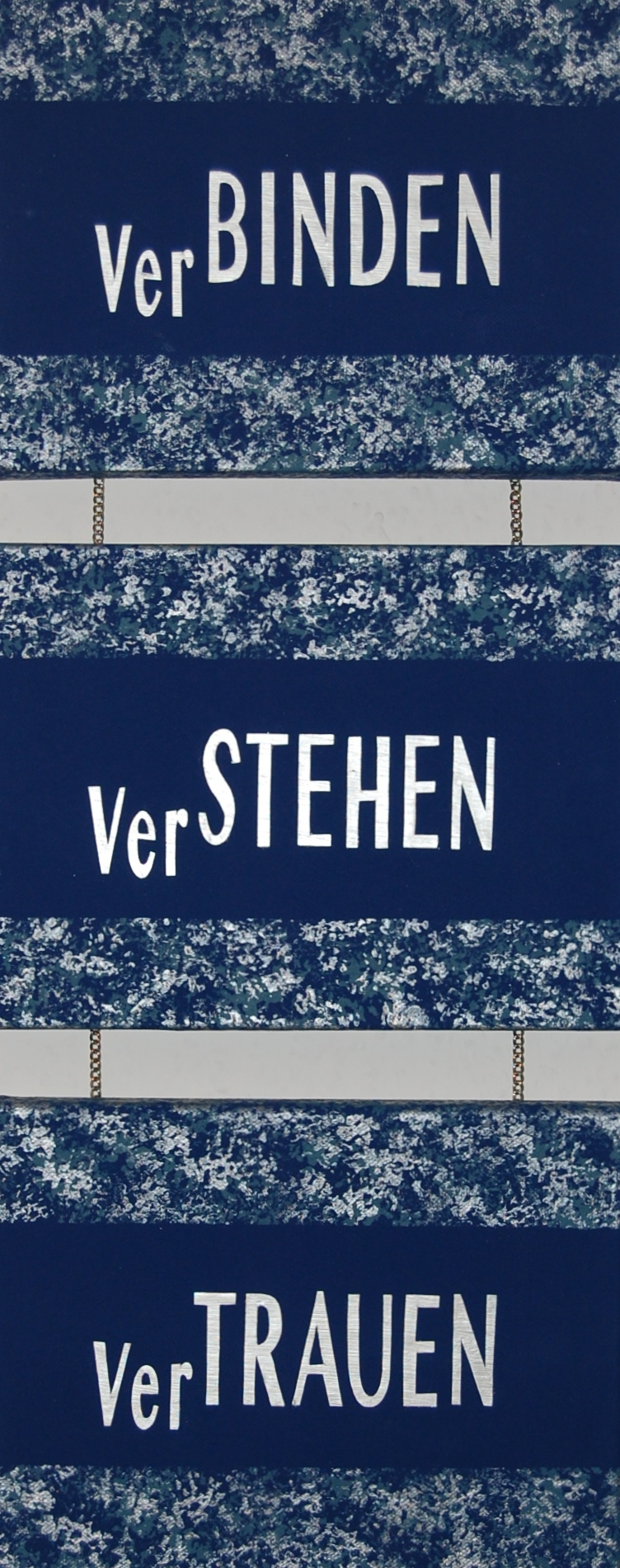 VerTRAUEN 64 x 24 cm
