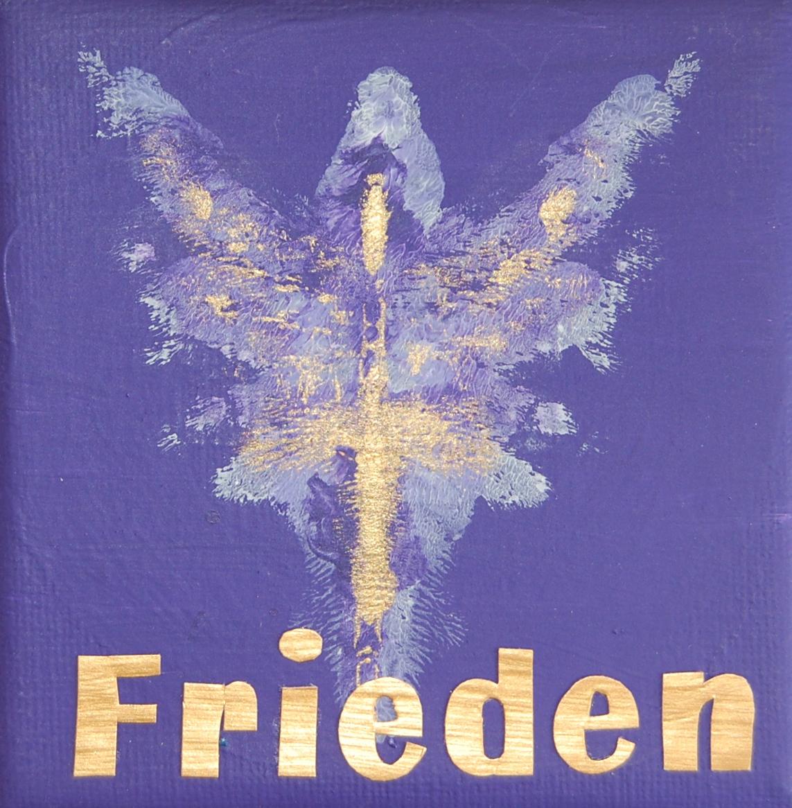 Engel des Friedens 10 x 10 cm