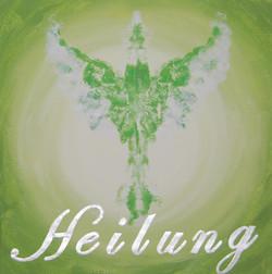 Engel der Heilung2 20 x 20 cm