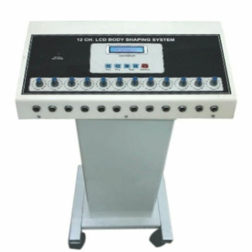 LCD 12 ch Body Shaping System  With trolley