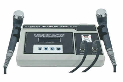 Ultrasonic therapy unit -1 &3  Mhz