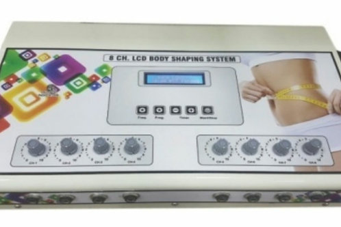 LCD 8 Ch Body Shaping Systems