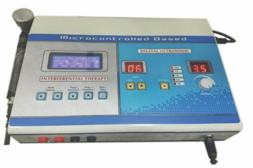 Microcontrolled based  Interferential therapy + US