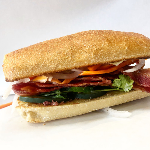 Bacon Vietnamese sandwich