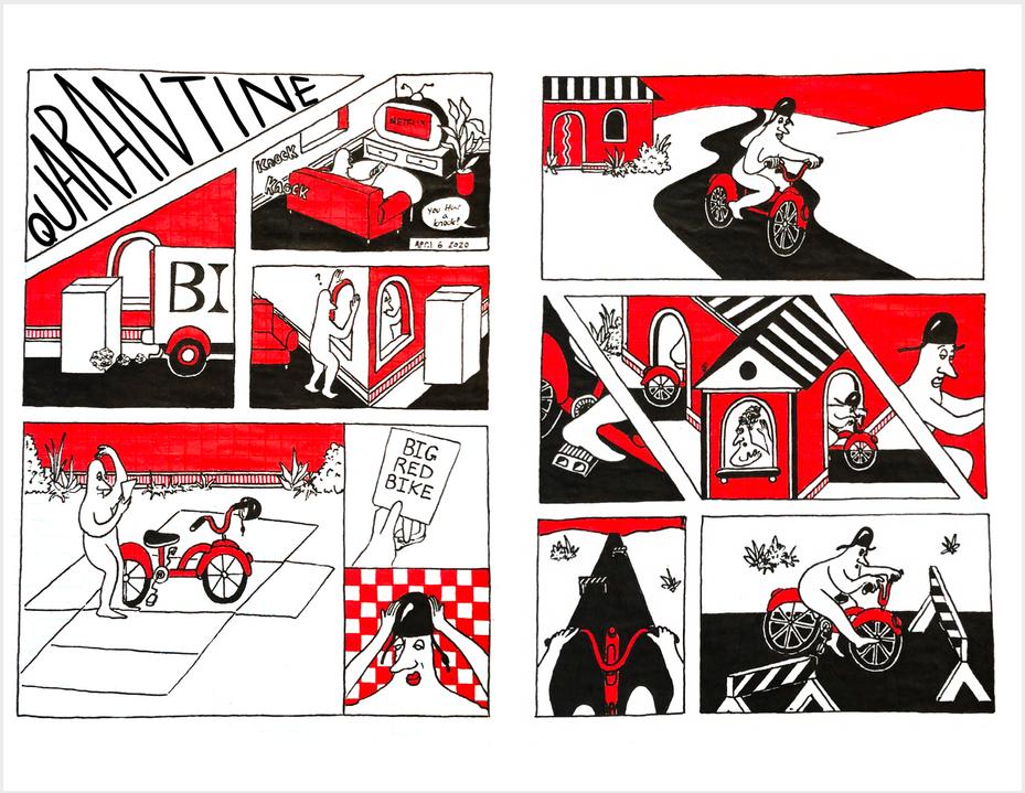 Quaranzine page 4