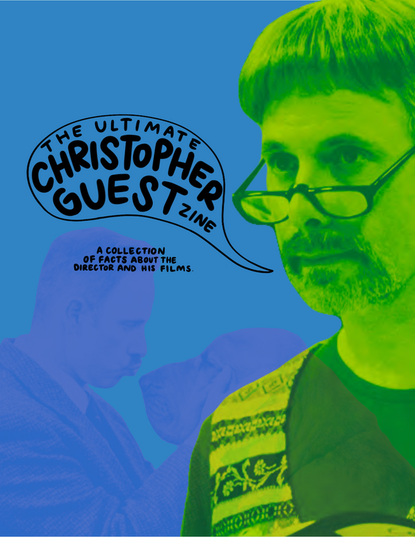 The Ultimate Christopher Guest Zine