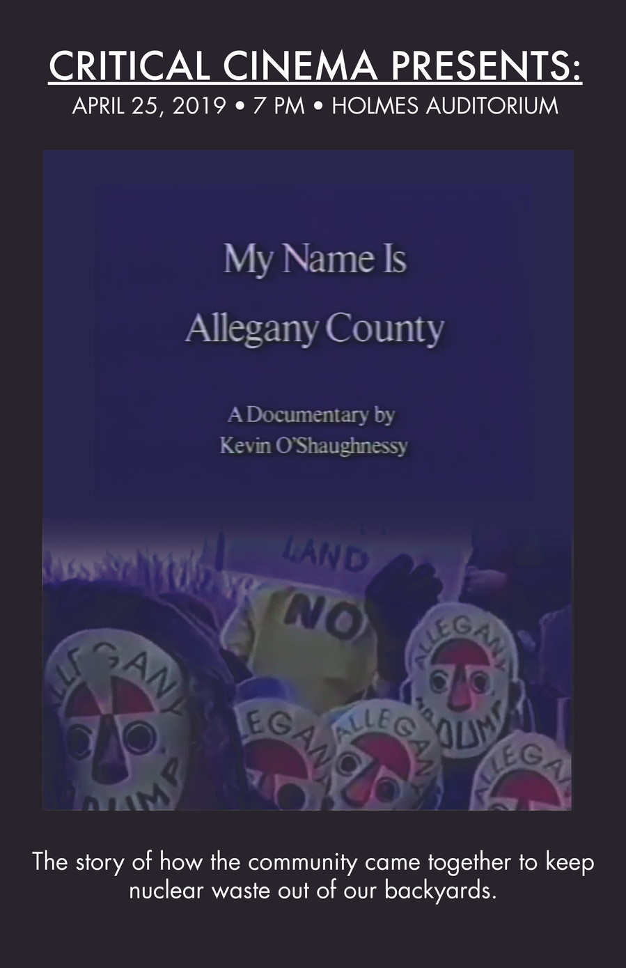 My Name is Allegany