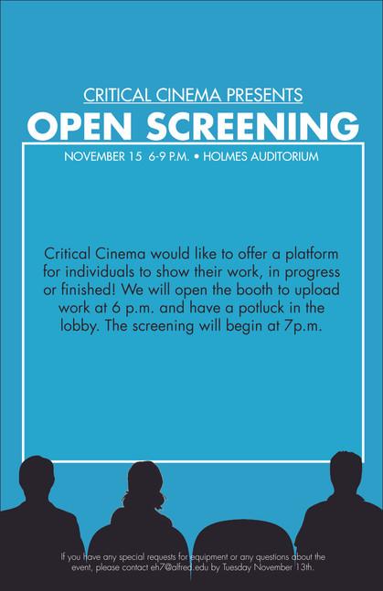 Open Screening