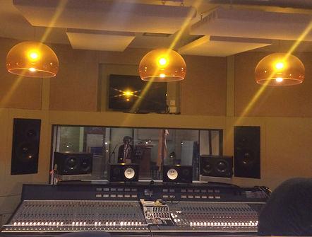 Michaela music, recording session