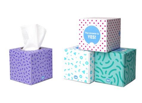 Who Gives A Crap Tissue Box