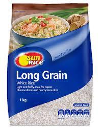 Sun Rice Long Grain Rice 1kg