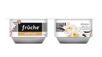 Fruche Vanilla Yogurt 2x150g