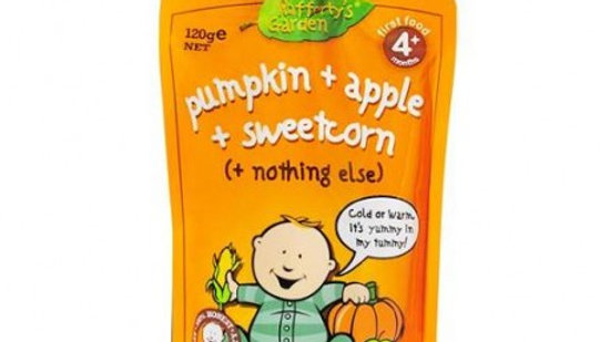 Rafferty Garden Pumpkin, Apple & Sweet Corn 120g
