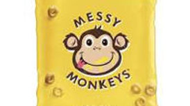 Messy Monkey Whole Grain Bites Cheese Flavour 8 Pack