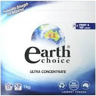 Earth Choice  Laundry Power Top & Front Loader 1kg