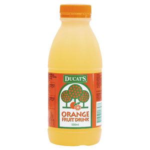 Ducats 500ml Orange  Fruit Drink x12