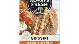 Always Fresh Grissini Sesame & Sea Salt 125g