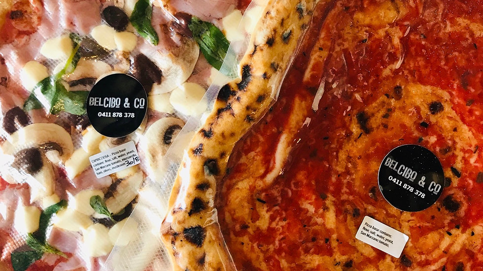 Belcibo & Co Capricciosa Pizza