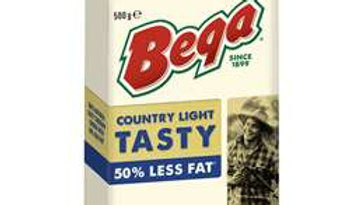 Bega Country Light 50% Less Fat Tasty 500g Block
