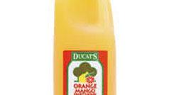 Ducats 2 Litre Orange & Mango Fruit Drink x6