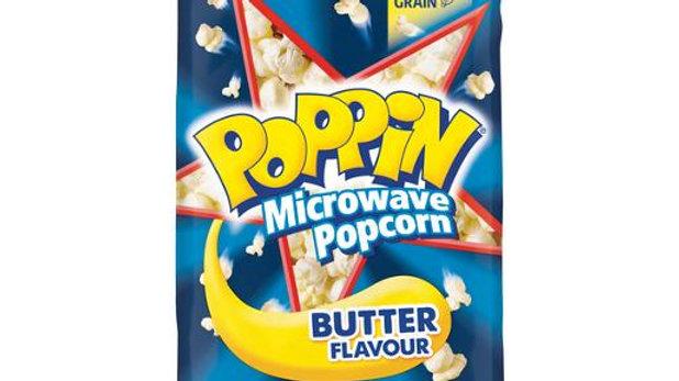 Poppin Microwave Popcorn 100gm