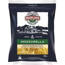 Mainland Mozzarella Grated 200g