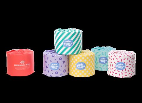 Who Gives A Crap Toilet Paper Premium Bulk Pack - 48 DOUBLE LENGTH rolls