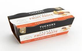 Tuckers Caramalised Fig Fruit Paste 100g