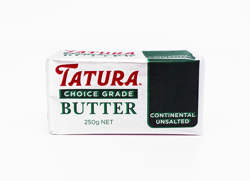 Tatura Butter 250g Unsalted