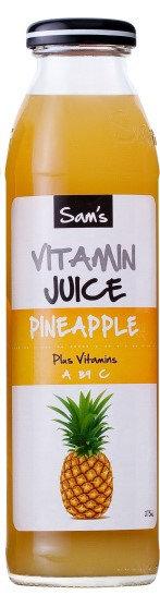 Sam's Vitamin Juice - Pineapple 375ml