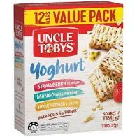 Uncle Tobys Yoghurt Muesli Bars 12 Pack