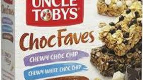 Uncle Tobys Choc Faves Muesli Bars 12 Pack
