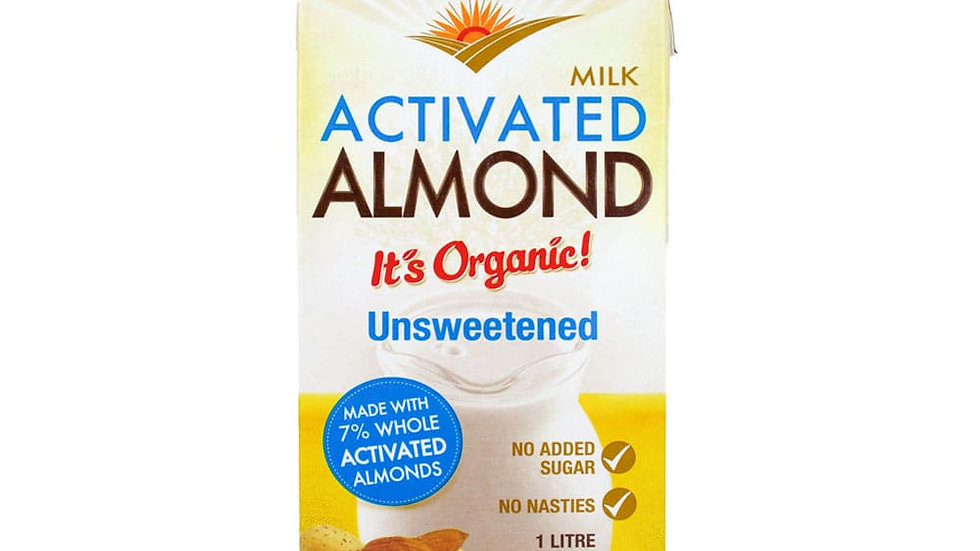 Pure Harvest Unsweetened Almond Milk 1 Litre