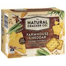 The Natural Cracker Co Farmhouse Cheddar 160g