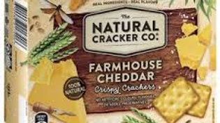 The Natural Cracker Co Farmhouse Cheddar 160g