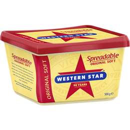 Western Star 500g Spreadable