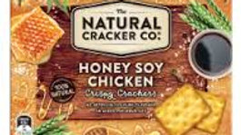The Natural Cracker Co Honey Soy Chicken 160g