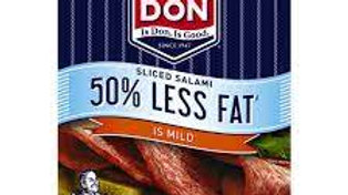 Don Salami Mild 50% Less Fat  100g