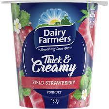 Dairy Farmers Thick & Creamy Strawberry 100g