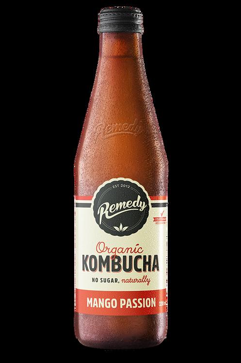 Remedy Kombucha Mango Passion 330ml