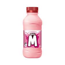 Big M Strawberry 300ml - 6 Pack