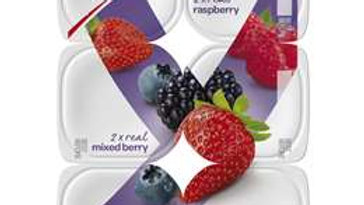 Yoplait Smooth Mixed Flavour Yogurt 100g x 12