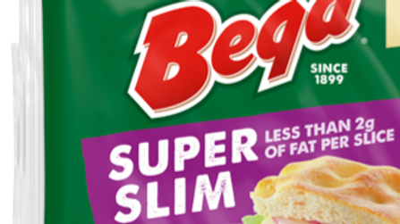 Bega Super Slim Cheese Slices 500g