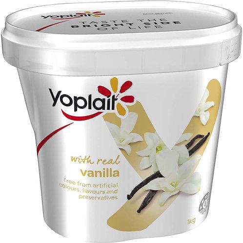 Yoplait Real Fruit Yogurt 1kg Vanilla