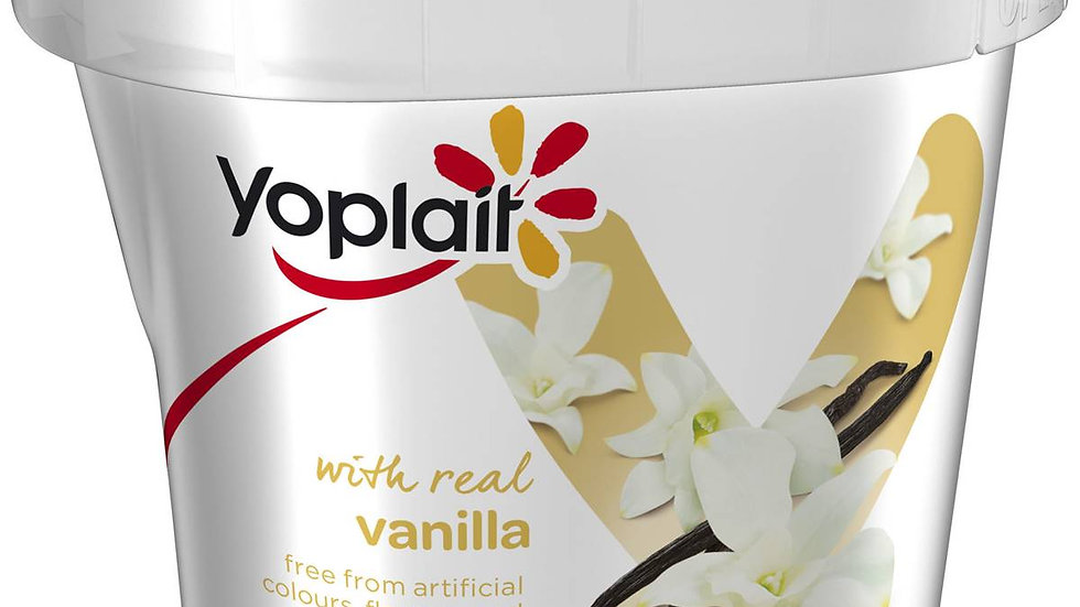 Yoplait Real Fruit Yogurt 1kg Vanilla
