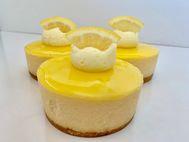 Lemon Individual Cheesecakes 6 Pack