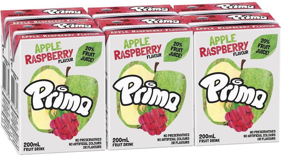 Prima Apple Raspberry 6 Pack